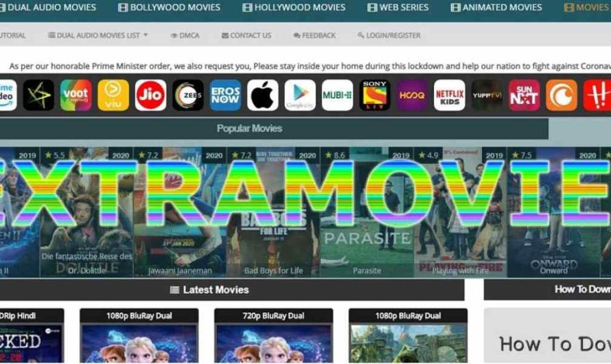Extramovies 2020: Illegal HD Movies Download Online, Dual Audio Movies