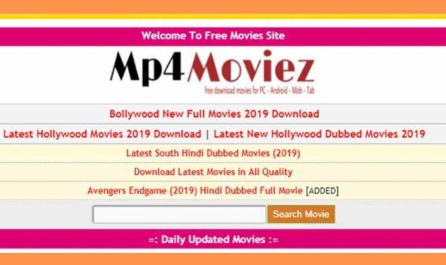 Mp4moviez 2020: Download Filmywap – Illegal HD Movies
