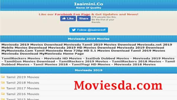 Moviesda – Tamil movie download